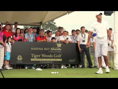 Tiger Woods at Laguna