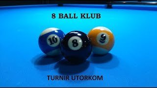 TURNIR UTORKOM - BK ''8 BALL SESVETE'' -30.4.2019. 9ball