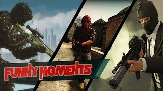 Funny Game Moments #2 [GTA5/BF3/CS:GO]