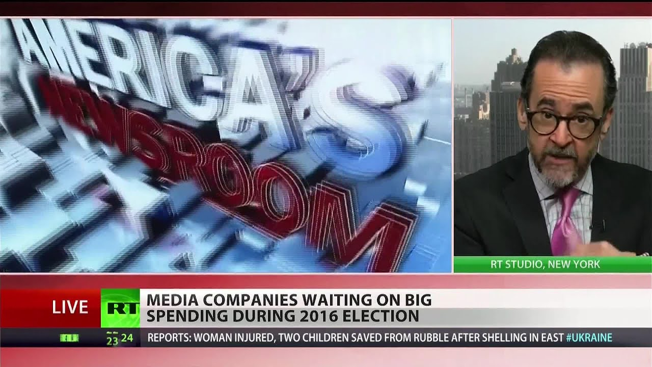 Show me the money: Corporate media set to win election cycle