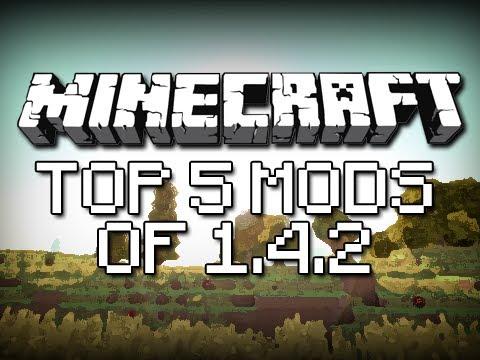 Minecraft: TOP 5 1.4.2 MODS!