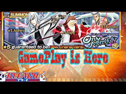 TLA  Captains Banner GamePlay is here! Give me Jushiro 👀 Bleach Brave Souls