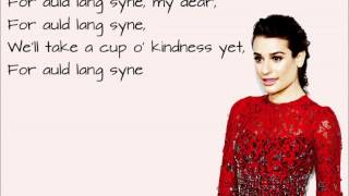 Watch Lea Michele Auld Lang Syne video