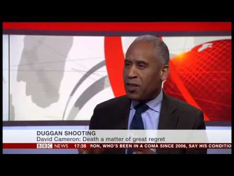 Simon Woolley, OBV Director, discusses Mark Duggan Verdict - BBC News