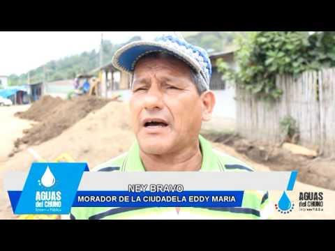 Dotación de agua potable Cdla. Eddy María