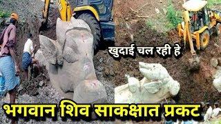 मैसूर: झील की खुदाई में निकली भगवान शिव के वाहन नंदी बैल की सदियों पुरानी प्रतिमाएं