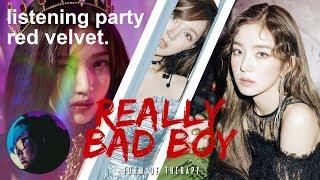 Listening Party Red Velvet 34 Really Bad Boy 34 Album Reaction First Listen