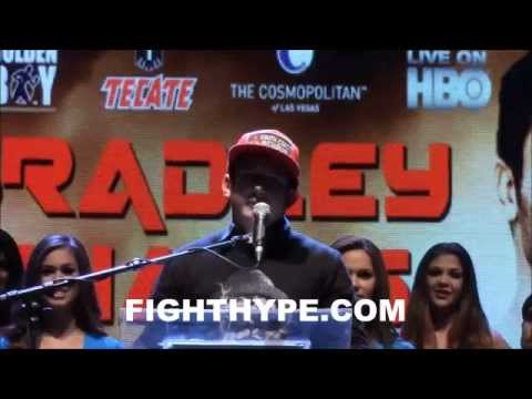 TIMOTHY BRADLEY VS DIEGO CHAVES FULL PRESS CONFERENCE HD