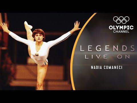 The Story of Nadia Comaneci, Gymnastics' Perfect 10 Icon   Legends Live On