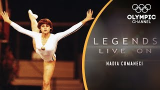 The Story of Nadia Comaneci, Gymnastics' Perfect 10 Icon  Legends Live On