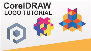 CorelDraw - How To Draw 3 Logo In 6 Minutes in Corel Draw