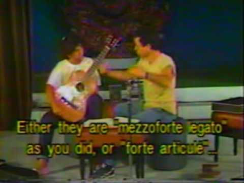 Rare Guitar Video: Leo Brouwer Masterclass