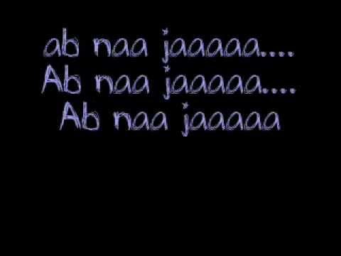 ab na jaa(Euphoria) by Shaurya(SSJ)