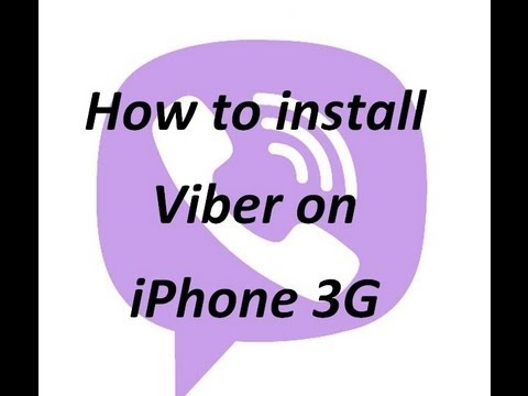 How to install Viber on iPhone 3G Fully Working WD6