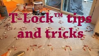 Tips for T-Lock™ Leveling System