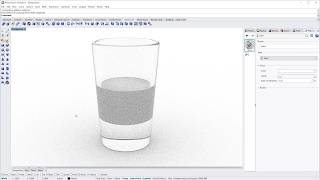 Modeling and rendering a simple glass with Rhino 6