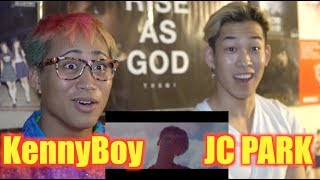 G DRAGON UNTITLED 2014 REACTION with JC Park and SAL V