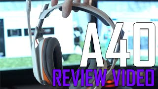 2015 Astro A40 Gen 2 PC Headset Unboxing + Review