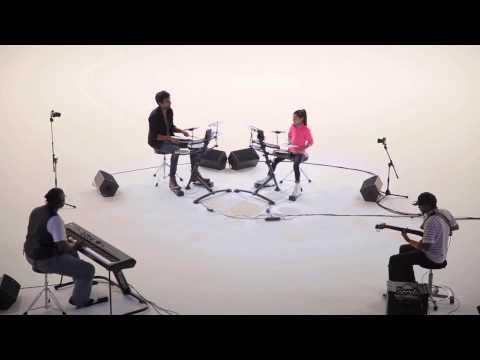 Enjoy school girl drummer's challenge