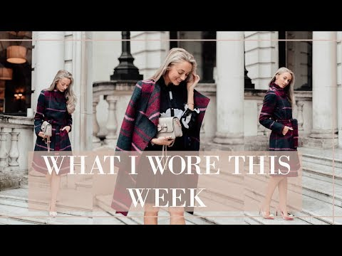 WHAT I WORE THIS WEEK // Blogger Mail Unboxing // Fashion Mumblr
