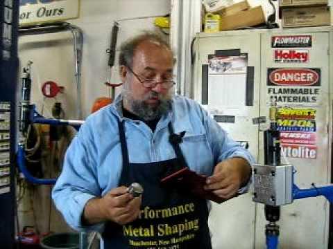 Planishing Machine Video Part 1