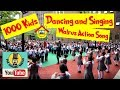 Action Song 1000 Kids Dancing And Singing The Singing Walrus ESL Song mp3
