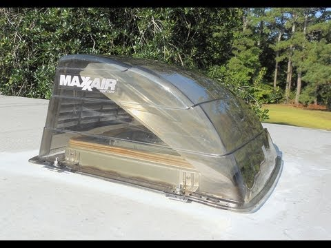 MaxxAir Vent Cover for your RV - Install 1, 2, 3 - The Lighthouse Lady