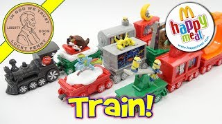 Holiday Christmas Express Train McDonald's 2017 Happy Meal Kids Toy Review
