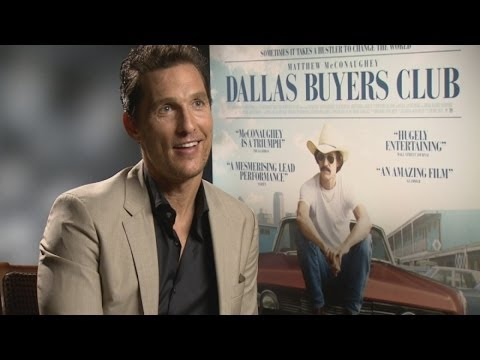 Dallas Buyers Club: Matthew McConaughey and Jared Leto interviews on awards and body transformations