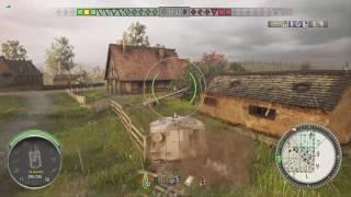 World of Tanks Xbox one FV304 1  Kill (Awesome kill from 4 min mark )