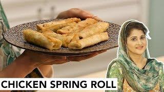 Chicken Spring Roll | Quick | Iftar Recipe | Ramazan | Sahiba | CreatorsOne | Lifestyle With Sahiba