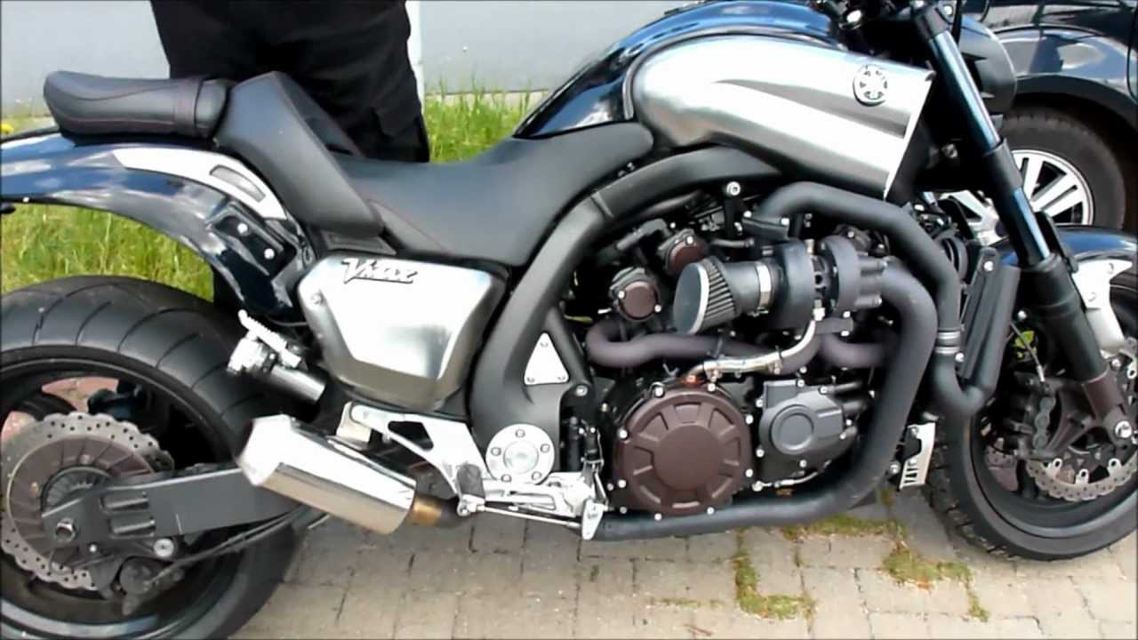 Yamaha Vmax Exhaust Youtube