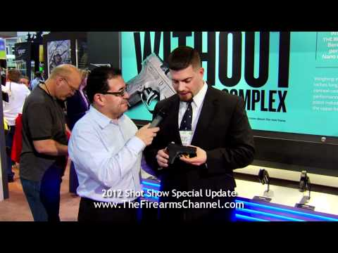 Firearms Channel at the 2012 Shot Show visits Beretta USA to Review the Nano