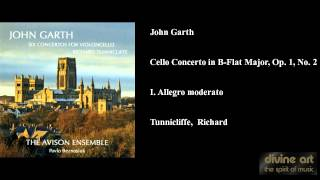 John Garth, Cello Concerto in B-Flat Major, Op. 1, No. 2, I. Allegro moderato