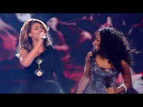 Alexandra & Beyonce - Listen XFactor 2008