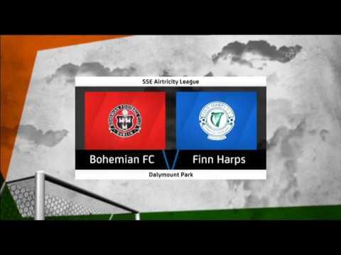 HIGHLIGHTS: Bohemians 3-1 Finn Harps