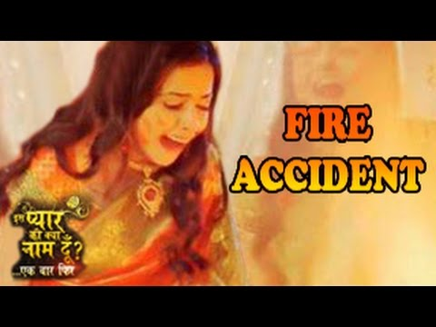 Iss Pyaar Ko Kya Naam Doon 2 19th August 2014 Full Episode Hd | Shocking Fire Accident video