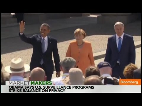 Obama Makes Nuclear Arms Stand at Brandenburg Gate