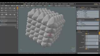 Modo 10.1 - Regular and Procedural modelling differences