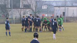 Rugby lyons Rugby noceto 20 01 2019 1° tempo
