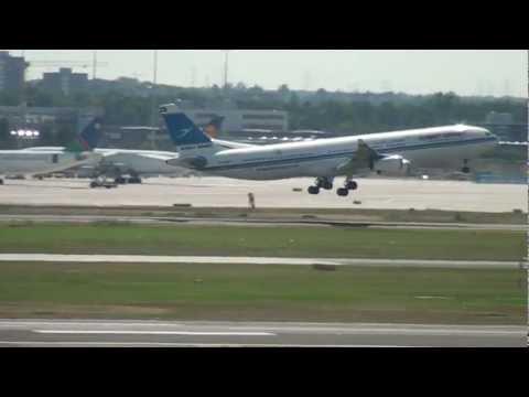 Frankfurt Airport 29 augustus 2012.