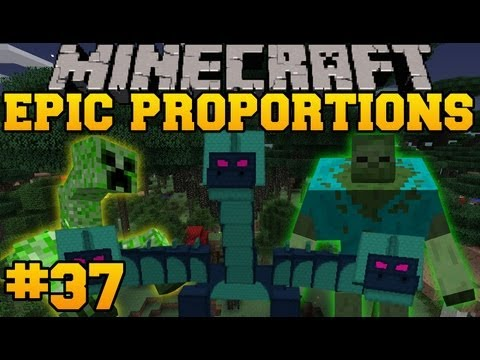 Minecraft: Epic Proportions - Terron Boss Fight - Mists Of Riov - Episode 37 (S2 Modded Survival)