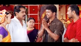Vijay helps his friend to get marry his girlfriend by convincing bride father | Tamil Matinee HD
