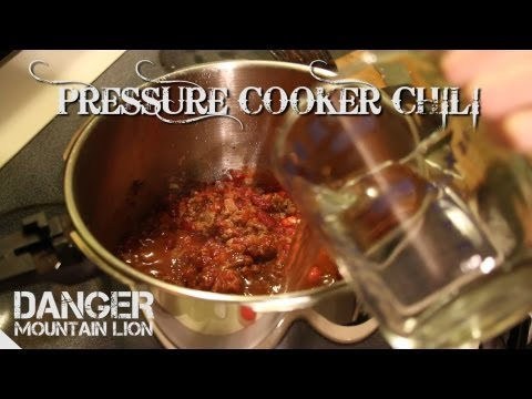 Chili Recipe   8 Minute Chili In A Pressure Cooker
