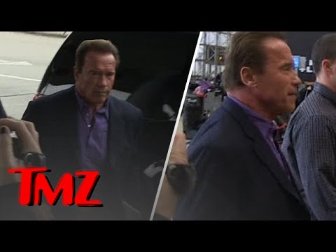 Arnold Schwarzenegger Is The King Wherever He Goes!