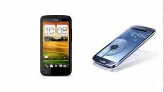 HTC One X+ to Samsung I9305 Galaxy S III, First Look, specifications