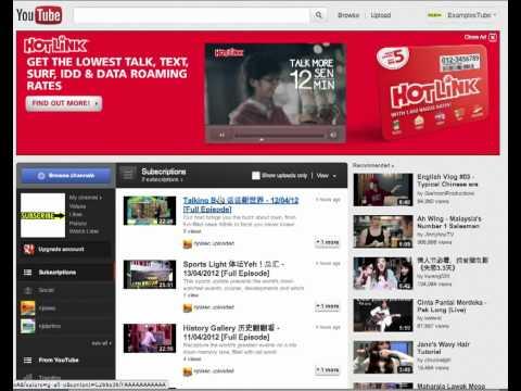 Hotlink Bagus - Maxis Prepaid - Interactive Masthead - Malaysia