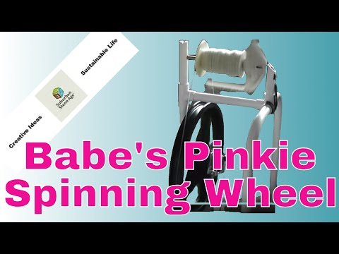 Babe's Pinkie Spinning Wheel with Suburban Stone Age
