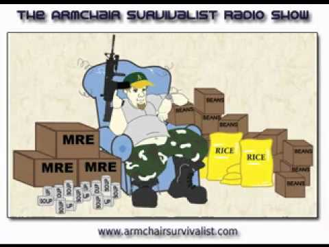 Armchair Survivalist Radio Program - 09/25/11