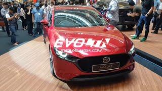 All new 2019 Mazda 3 Hatch Walk Around Review | Evomalaysia.com